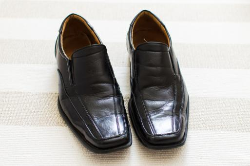 Free Stock Photo of Men's Leather Shoes