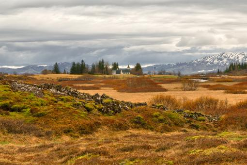 Free Stock Photo of Blessed Thingvellir