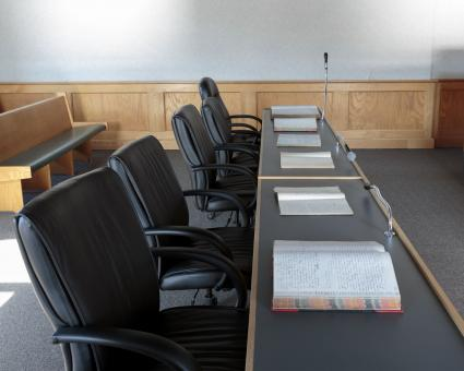 Free Stock Photo of Lawyers bench