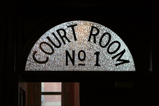 Free Stock Photo of Court sign