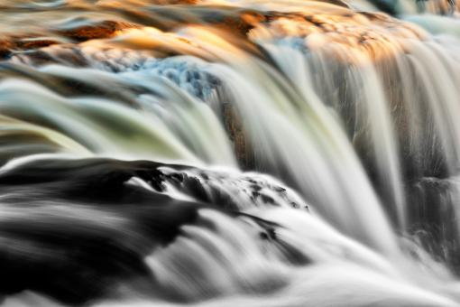 Free Stock Photo of Kolufoss Color Impressions