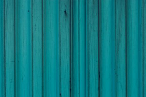 Free Stock Photo of Blue Corrugated Background
