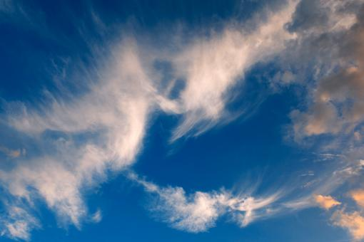 Free Stock Photo of Cheeky Devil Clouds