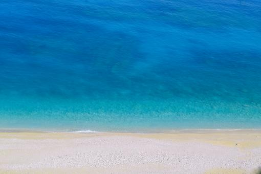 Free Stock Photo of Myrtos Beach Kefalonia Island Shore Sea
