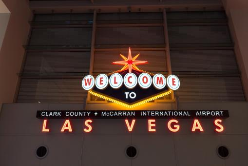 Free Stock Photo of Welcome to Las Vegas