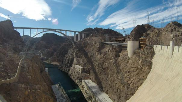 Free Stock Photo of Hoover Dam Bypass