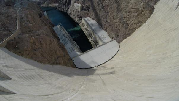 Free Stock Photo of Hoover Dam Bottom
