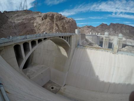 Free Stock Photo of Hoover Dam Structure