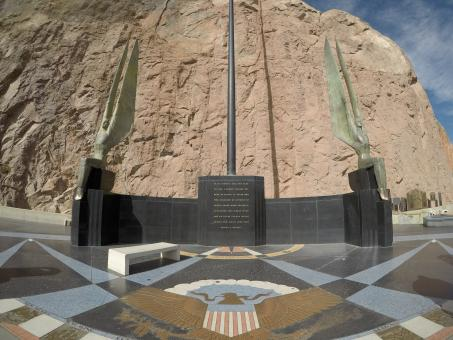 Free Stock Photo of Hoover Dam Memorial