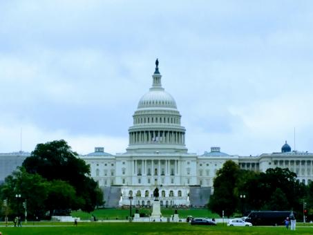 Free Stock Photo of Washington DC Capitol Building