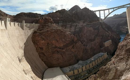 Free Stock Photo of Hoover Dam Closeup