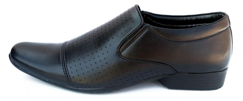Free Stock Photo of Black Male Leather Shoes