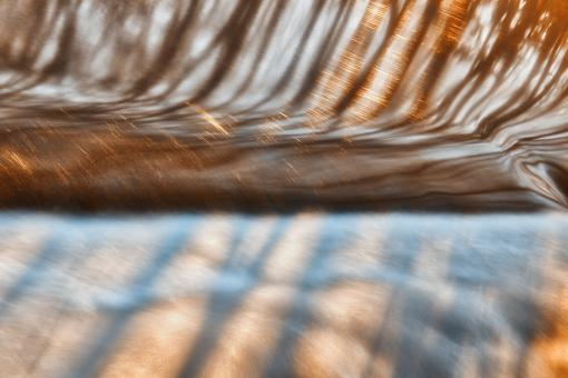 Free Stock Photo of Abstract Potomac Reflections