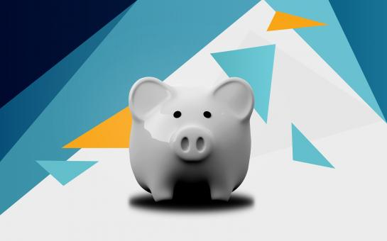 Free Stock Photo of Piggy Bank - Abstract Background