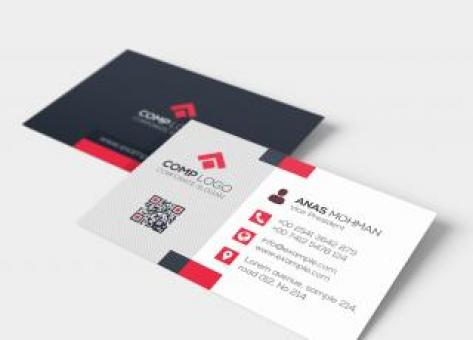 Free Stock Photo of PSD Corporate Business Card
