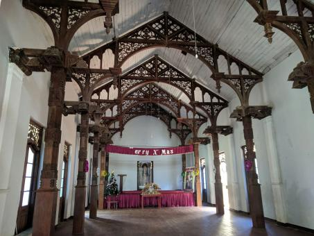 Free Stock Photo of Interior View of Richmond Castle Banquet Hall, Kalutara, Sri Lanka