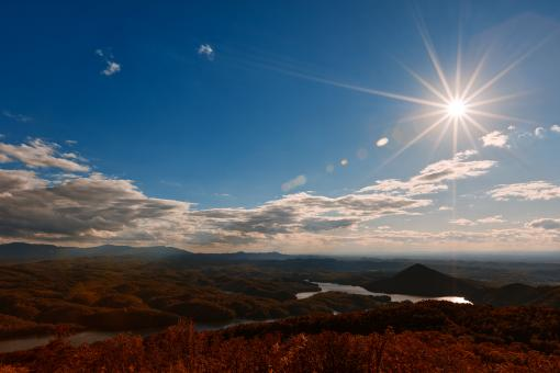 Free Stock Photo of Ocoee Sunburst