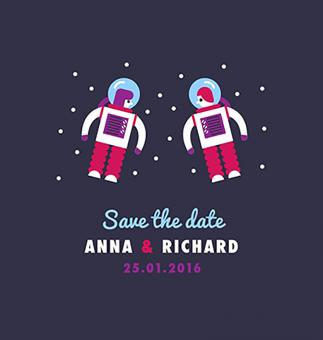 Free Stock Photo of Save the Date - Vector Invitation Illustration