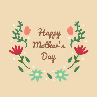 Free Stock Photo of Lettering for Mother's Day - Illustration