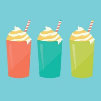 Free Stock Photo of Sweet Drinks Vector Illustration