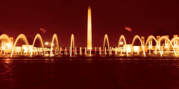 Free Stock Photo of Washington Fountain Monument