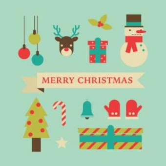 Free Stock Photo of Christmas Illustrations