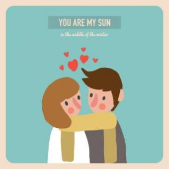 Free Stock Photo of You are my Sun