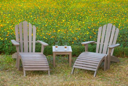 Free Stock Photo of Spring Chairs