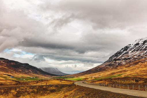 Free Stock Photo of Iceland Wanderlust Road