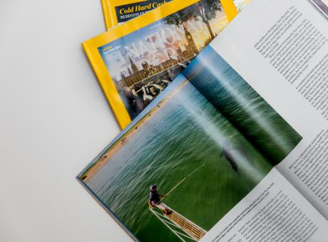 Free Stock Photo of Nat Geo Mags