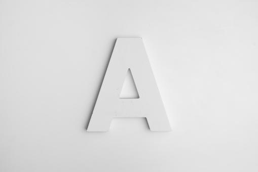 Free Stock Photo of Letter A