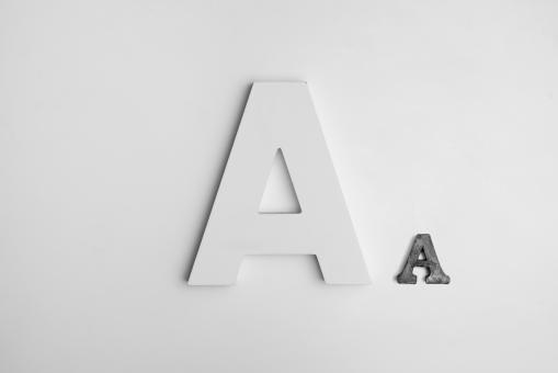 Free Stock Photo of A, A