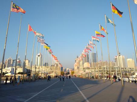 Free Stock Photo of Qingdao China, city of the first Chinese Olympic games