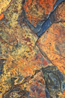 Free Stock Photo of Pendleton Painted Stone