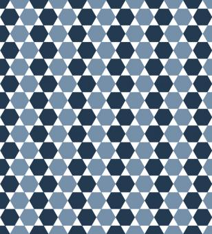 Free Stock Photo of Blue Tiled Vector Pattern