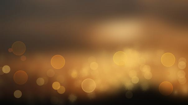 Free Stock Photo of Golden Bokeh Background