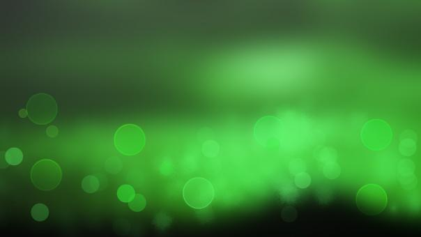 Free Stock Photo of Green Bokeh Background