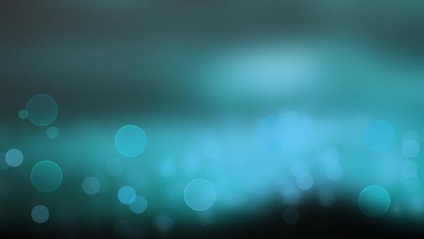 Free Stock Photo of Blue Abstract Bokeh Background
