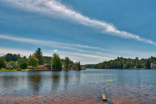 Free Stock Photo of Saranac Lake
