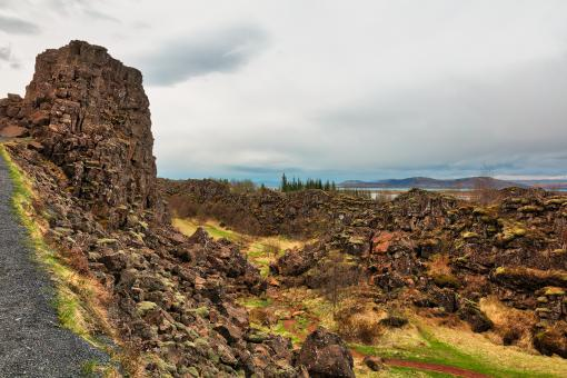 Free Stock Photo of Stone Sentinel of Thingvellir