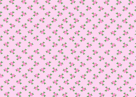 Free Stock Photo of Simple Rose Flower Seamless Pink Pattern