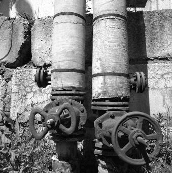 Free Stock Photo of Old Pipe System