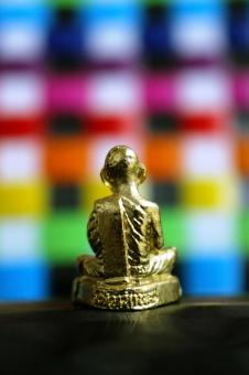 Free Stock Photo of Golden Buddha Statue