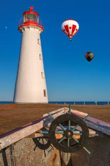 Free Stock Photo of Point Prim Air Balloons