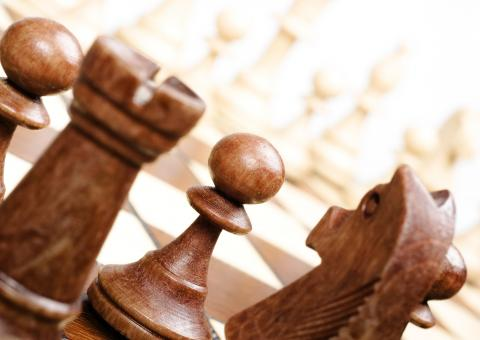 Free Stock Photo of Chess Pieces
