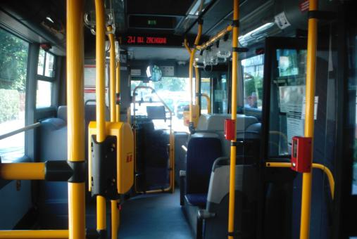 Free Stock Photo of Inside a Bus in Pruszków