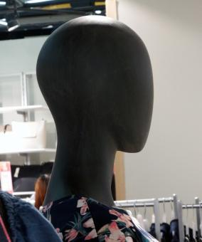 Free Stock Photo of Head of a female mannequin in a store