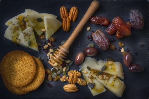 Free Stock Photo of Cheese Platter
