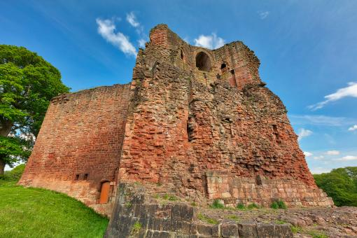Free Stock Photo of Bothwell Castle