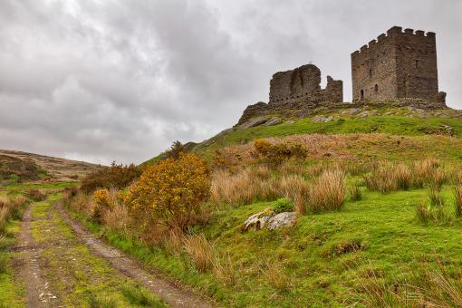 Free Stock Photo of Dolwyddelan Castle Path